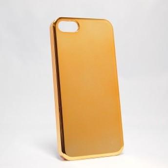 iPhone5/iPhone5s用ケース【ミラー・ゴールド】