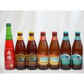 クラフトビールパーティ7本セット ハワイコナビール(ファイアーロック・ペールエール355ml×2本 ロングボードアイランドラガー355ml×2本