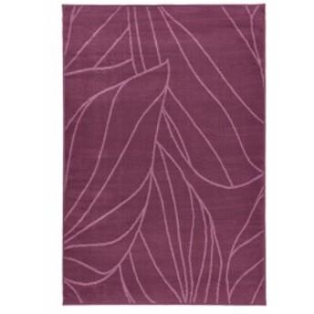 送料無料IKEAイケアLABORG ラグマット絨毯カーペット パイル短 133×195cm ライラック