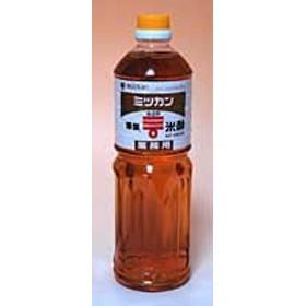 ミツカン酢 華撰米酢 1L ×12個【イージャパンモール】
