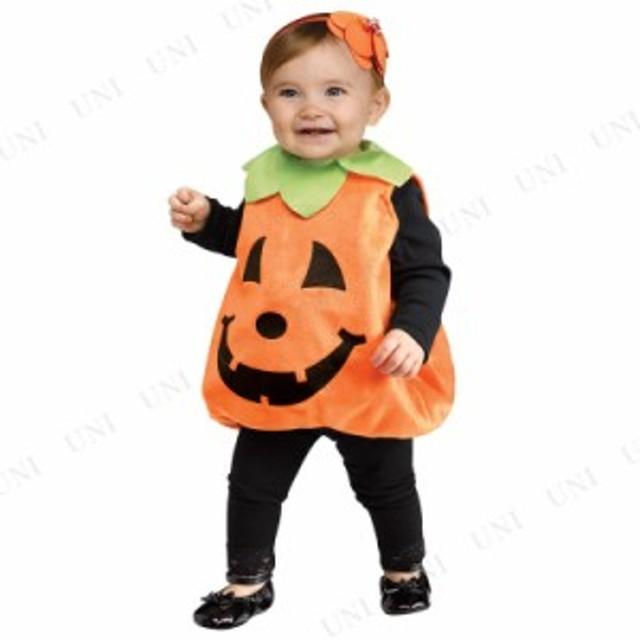897d0f9185c7f9 パンプキンチュニック ベビー用 仮装 衣装 コスプレ ハロウィン 子供 赤ちゃん 服 コスチューム 子ども用 キッズ