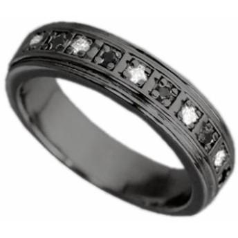 刻印無料 ブラックシルバー シンプル ペアリング マリッジリング 結婚指輪 メンズ単品|雑誌掲載人気ブランド|プレゼント推奨|95-2388B