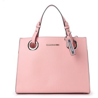 サマンサベガ ロゴベルトバッグ(大) ピンク