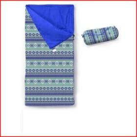 シュラフ 子供 寝袋 コンパクト 封筒型 洗える キャンプ おしゃれ かわいい ネイティブ KIDS NATIVE PATTERNS シュラフ