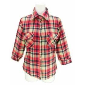 JUNGLE GEMS ジャングルジェムズ チェックネルシャツ (ブラウス) 076363【中古】
