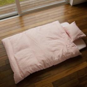 可愛いハート柄 まくらカバー 43x63cmまくらカバー 2重ガーゼの枕カバー  肌に優しい国産綿100%/6枚までメール便送料無料