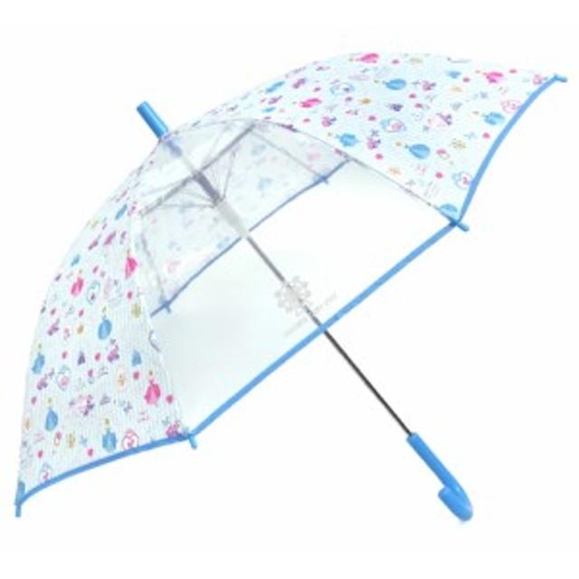 b0395cacef007 ジャンプ傘(55cm) プリンセスドレスで彩るパウダールーム(ストライプ) N7401810 子供