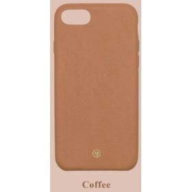 カスタマイズされたマルチカラーレザーラムスキンシリーズマカロンファンタジーカラー24色ブラウンiPhoneケース