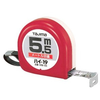 TJMデザイン H1955BL ハイ-19 5.5m/メートル目盛/ブリスタータジマ[H1955BLTJM]【返品種別A】