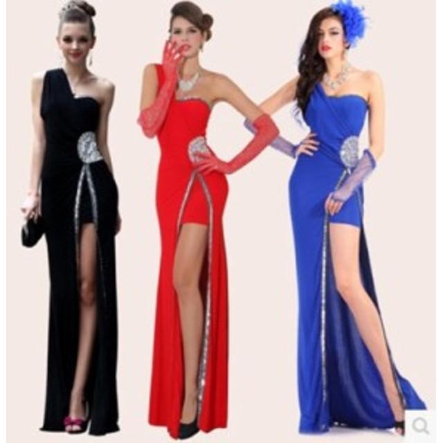 ffa748ec22b91 高品質 ☆ナイトドレス ロングドレス パーティードレス 舞台ドレス イブニングドレス ワンピース♪結婚