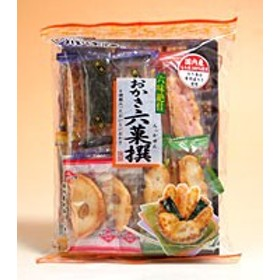 ★まとめ買い★ 吉村甘露堂 おかき六菓撰20枚 ×12個【イージャパンモール】