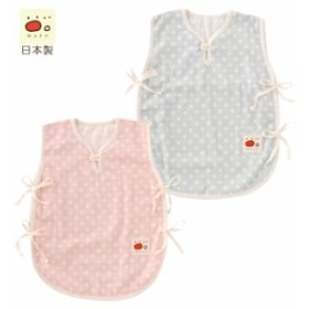 WAFUわふWガーゼドットスリーパー【日本製】[赤ちゃん][ベビー][スリーパー][男の子][女の子][綿][日本製]