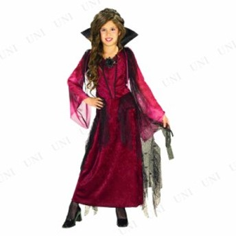 コスプレ 仮装 ゴシックバンパイアレス 子供用 M コスプレ 衣装 ハロウィン 仮装 子供 ドレス キッズ コスチューム 子ども用 こども パー