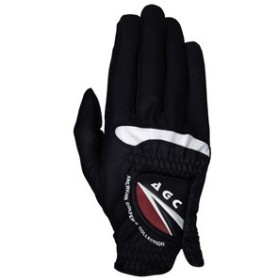 アメリカン・ゴルファーズ・コレクション AGC メンズ・ゴルフグローブ 右手用(ブラック・Lサイズ) AGGL-5653 R BK L【返品種別A】