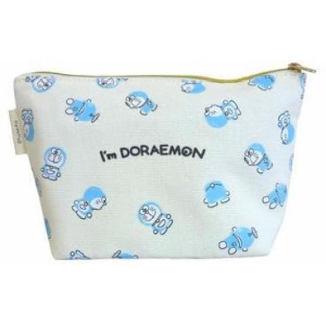 ドラえもん I'm Doraemon ポーチ ホワイト (チラシ/クレヨン) 映画 グッズ プレゼント映画 グッズ プレゼント
