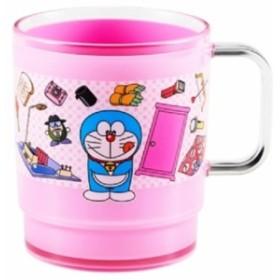 ◆OSK ドラえもん スタッキングコップOW-3 ピンク(贈り物、お土産,キャラクターグッツ通販(A161)
