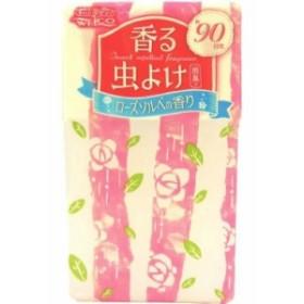 【季節限定】 ウエルコ 香る虫よけ ローズソルベの香り 250g