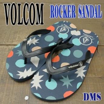VOLCOM/ボルコム メンズ ビーチサンダル ROCKER SANDAL DMS 男性用ビーサン BEACH SANDAL 草履 ぞうり海水浴