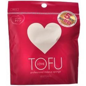 TOFU LOVE プロフェッショナル メイクアップ スポンジ(2コ入)[パフ]
