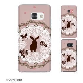 docomo Galaxy Feel SC-04J スマホ ケース ハード カバー ウサギ2 ピンク
