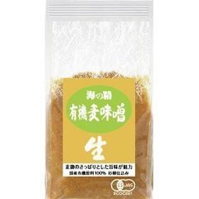 海の精 国産有機麦味噌 10776(1kg)[味噌 (みそ)]