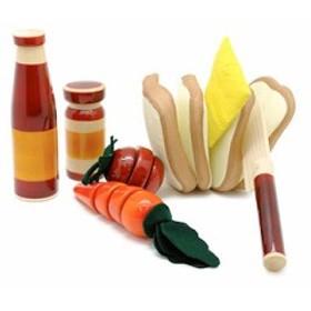 【送料無料】 インド 木製知育玩具 Maya Organic(マヤ・オーガニック) picnic(おままごとセット・ピクニック)