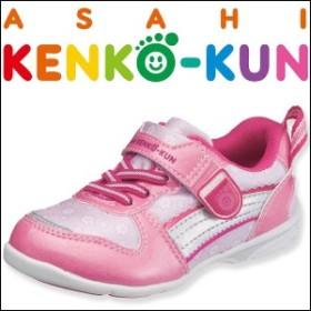 アサヒ健康くん スニーカー AKK P016K/キッズ:ピンク kc78171