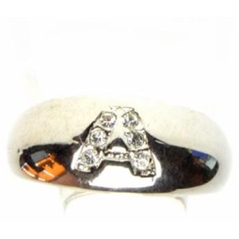 ラインストーン A デザイン リング 13号 指輪 レディース アクセサリー h-re655