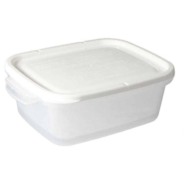 HOME COORDY レンジ調理容器 温野菜 1.1L ホームコーディ ホワイト 保存容器
