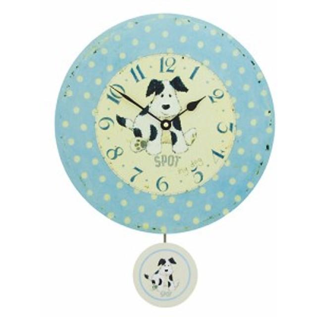 ロジャー・ラッセル 英国製アンティーク振り子時計(ドッグ)