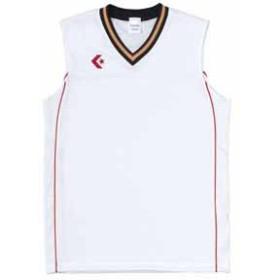 コンバース CB26712-1164-O ゲームシャツ(ホワイト/レッド・O)CONVERSE[CB267121164O]【返品種別A】