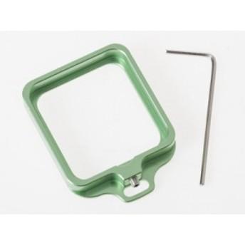 GOPRO 4 / 3+ 防水ハウジングケース専用 アルミ合金製 レンズ保護カバー リング#グリーン【新品/送料込み】