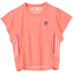 【6,000円(税込)以上のお買物で全国送料無料。】FILAレディースTシャツ