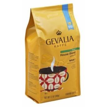 ゲバリア Gevalia ハウスブレンド カフェインレス グラウンドコーヒー(挽き豆) 340グラム