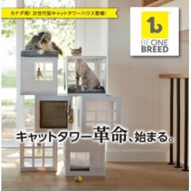 今までにない形のキャットタワー beonebreed Katt3(キャット3) スターティングキット