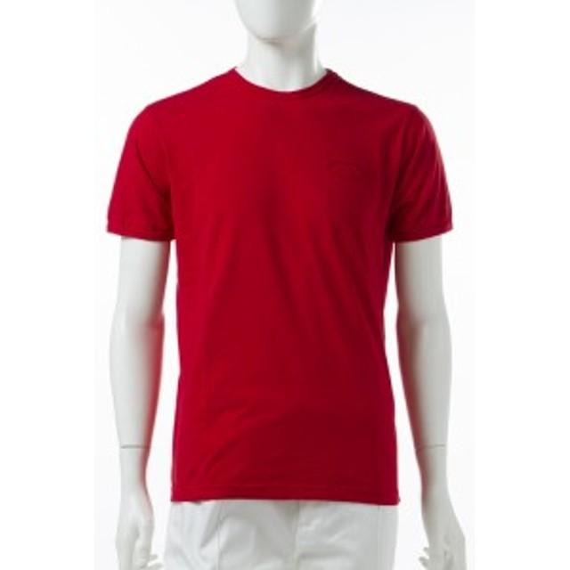 2017年春夏新作 ダニエレアレッサンドリーニ DANIELEALESSANDRINI Tシャツ メンズ(M5801E6473700)レッド