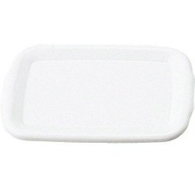 野田琺瑯 レクタングル深型L用 琺瑯蓋 ホワイト HFF-L(1コ入)[キッチン用品 その他]