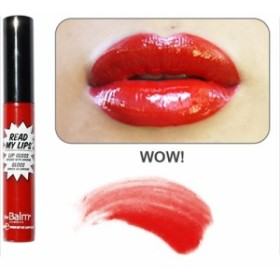 the Balm★ Read My Lips (WOW!)- Lip Gloss Infused with Ginseng/ザバーム リードマイリップ リップグロス