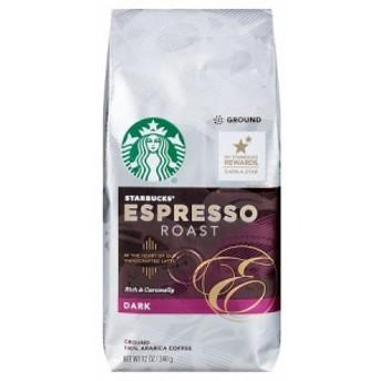 スターバックス Starbucks エスプレッソロースト グラウンドコーヒー(挽き豆)340グラム スタバ