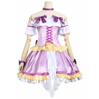 BanG Dream!(バンドリ!) Pastel Palettes    若宮イヴ  風   コスプレ衣装  ★完全オーダメイドも対応可能  K4526