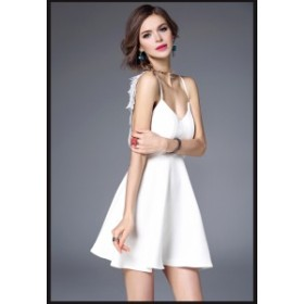 レースセクシーワンピース  パーティドレス 結婚式ワンピース 大きいサイズ 二次会 ドレス ミディアムドレス お呼ばれドレス