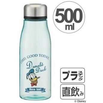 水筒 スタイリッシュブローボトル ドナルドダック タイムレスメモリー 500ml 茶漉し付き ( プラスチック製 ウォーターボトル マグ