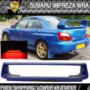 Fits 02-07 Subaru Impreza WRX STI Style Painted Trunk Spoiler #32J ABS