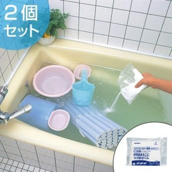お風呂洗い洗剤 お風呂まるごとつけおきくん 2包 つけ置き洗剤 ( 湯垢 水垢 湯垢落とし 水垢落とし 浴槽洗い 洗剤 風呂釜 浴室洗剤