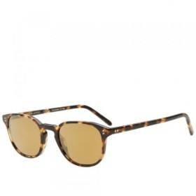 オリバーピープルズ サングラス メンズ【Oliver Peoples Fairmont Sunglasses】Vintage DTB & Gold M