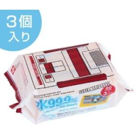 おしりふき スーパーマリオ 日本製 ウエットティッシュ 水99% 80枚入り 3個入り