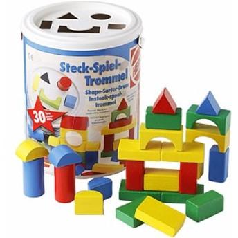積み木 ブロック 2歳 3歳 4歳 ハーマンロスバーグ社 HEROS 筒入積木 パズル | 木のおもちゃ 木製 赤ちゃん ベビー 誕生日プレゼント 誕生