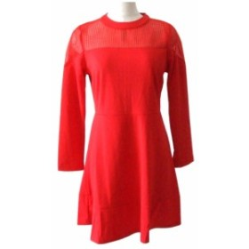新品同様 Select セレクト レースドレスワンピース (赤 ドレス パーティ) 106680【中古】