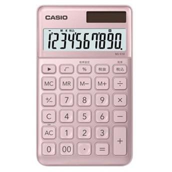 カシオ NS-S10-PK 電卓 10桁 (ライトピンク)CASIO スタイリッシュ電卓 大判手帳タイプ[NSS10PKN]【返品種別A】