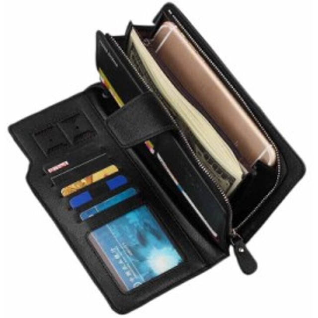 18eb4d1d3a80 メンズ 財布 長財布 男性 サイフ ウォレット 革 レザー カード入れ多い 小銭入れ 紙幣入れ
